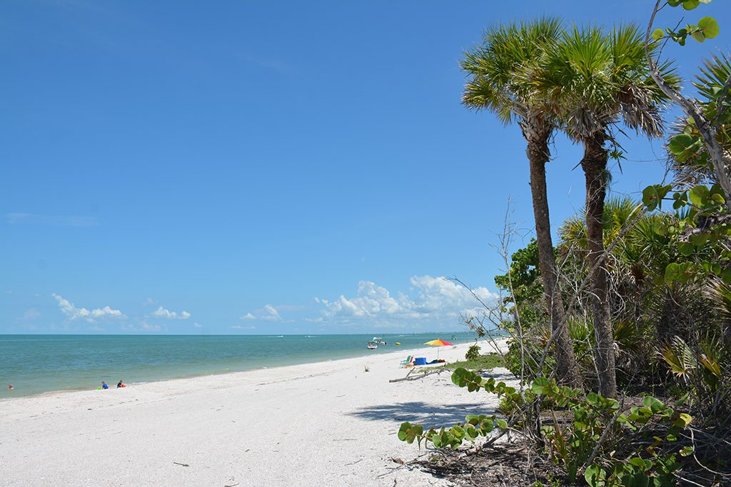 Barefoot Beach Preserve County Park in Florida