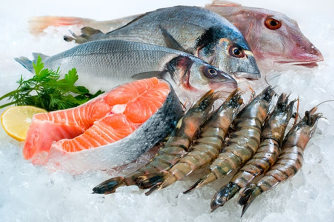 Salmon and Other Fish Rich in Omega 3 Fatty Acids