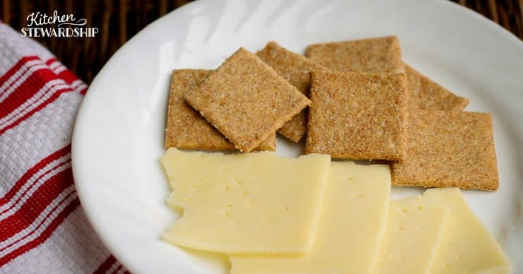 Cheese and Whole Wheat Cracker