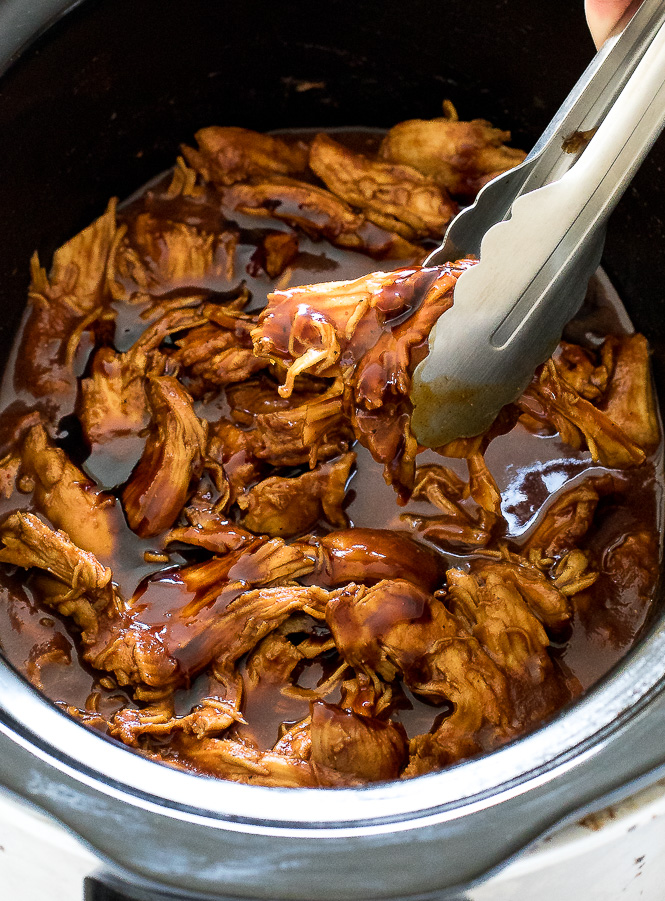 Barbecue Slow Cooker Chicken