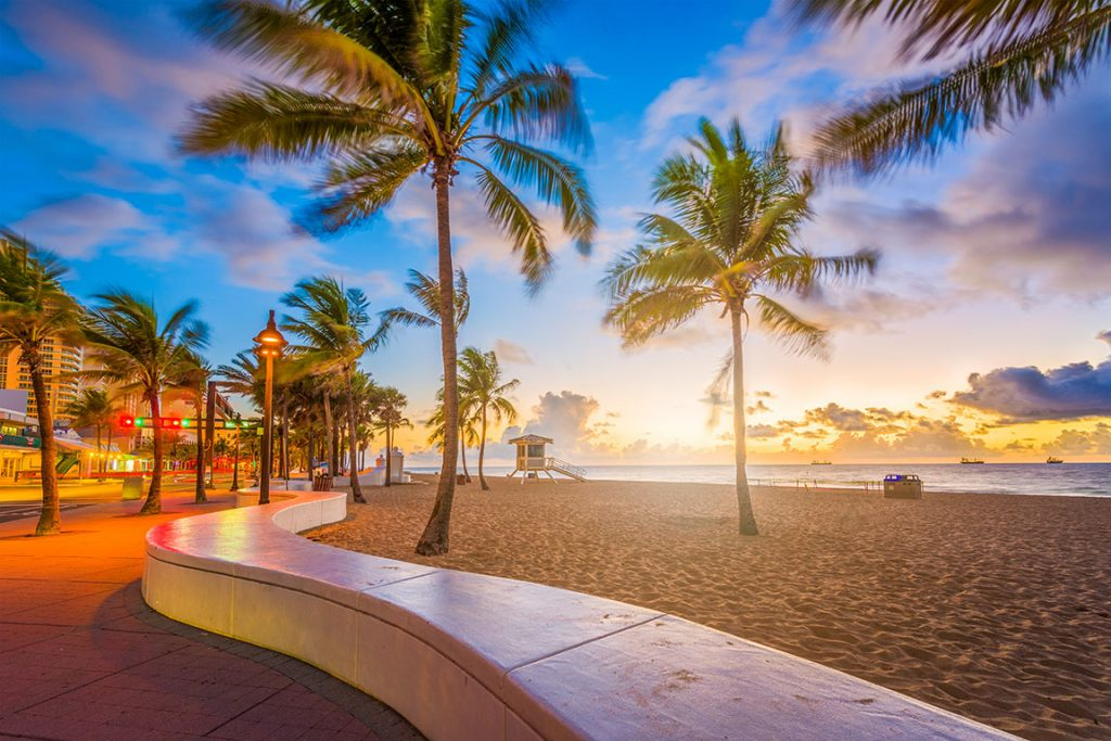 Beaches in the USA