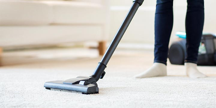 Vacuum all parts of your home thoroughly.