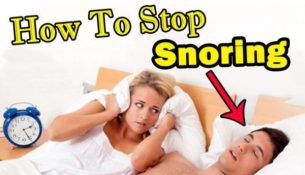 Tips To Get Rid Of Snoring